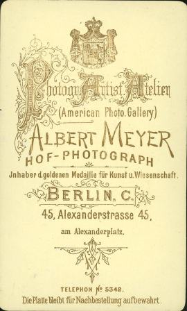 Meyer, Berlin