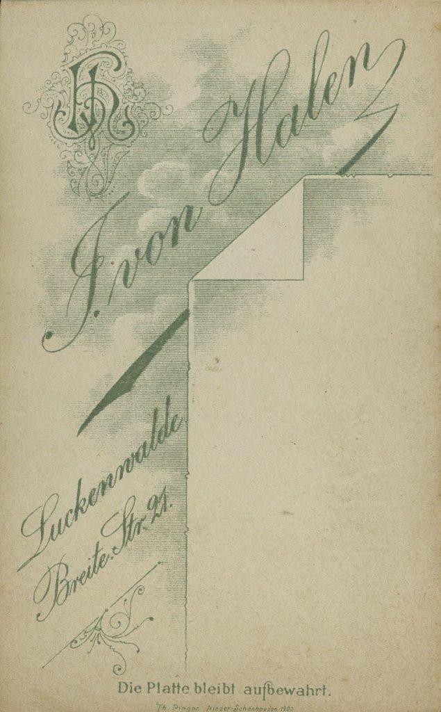 F. von Halen - Luckenwalde