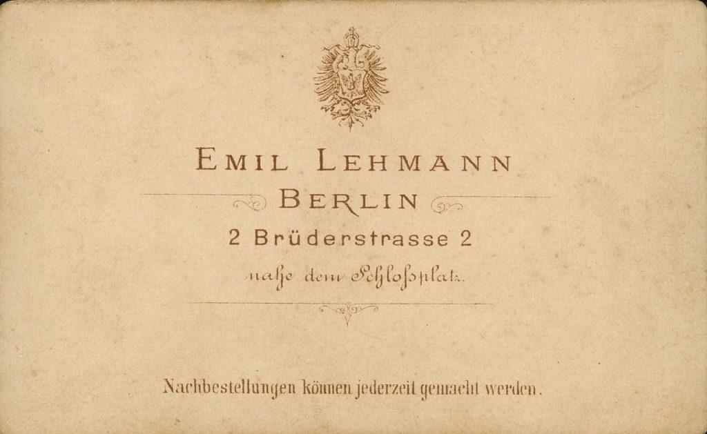 Emil Lehmann - Berlin