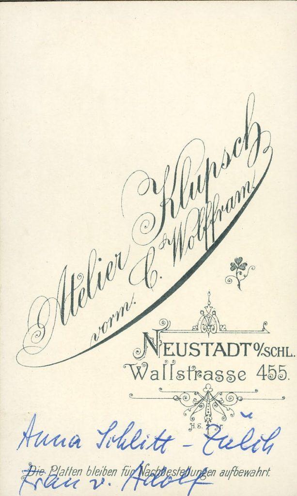 Atelier Klupsch - Neustadt o.Schl.