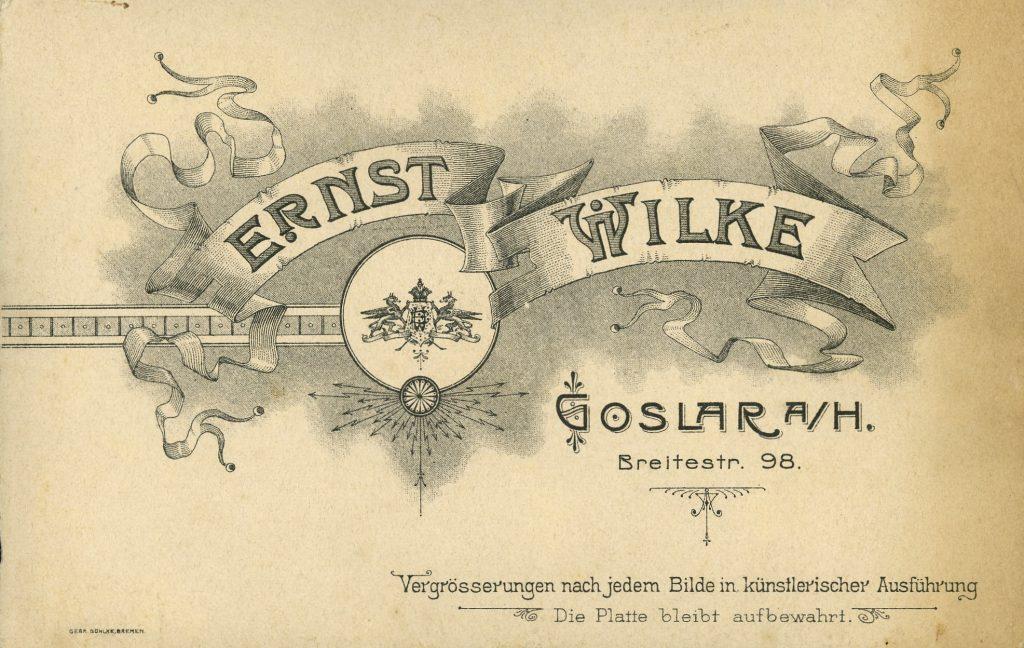 Ernst Wilke - Goslar a.H.