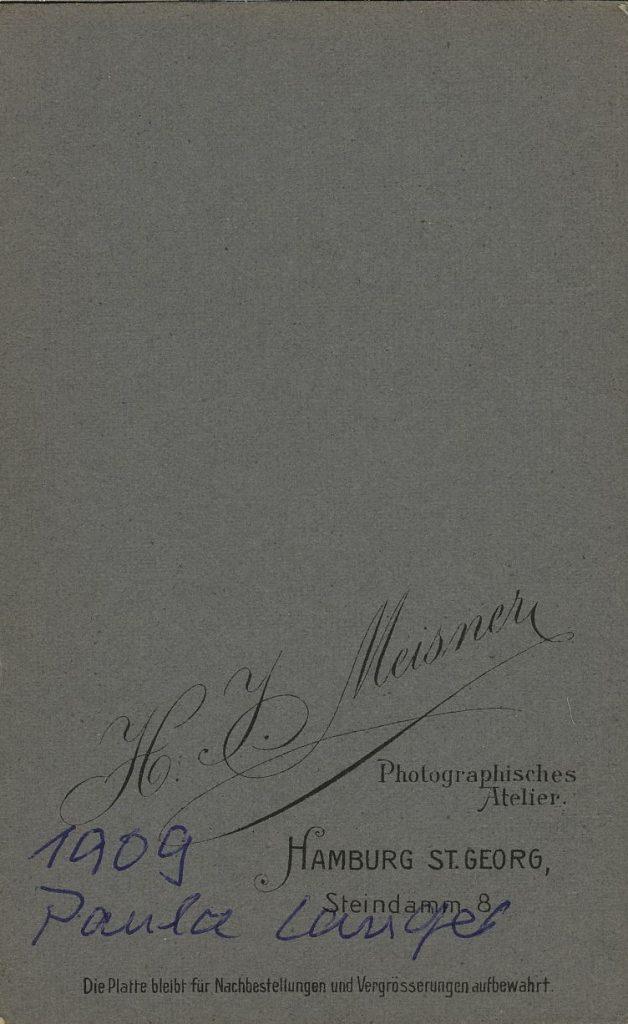 H. J. Meisner - Hamburg St Georg