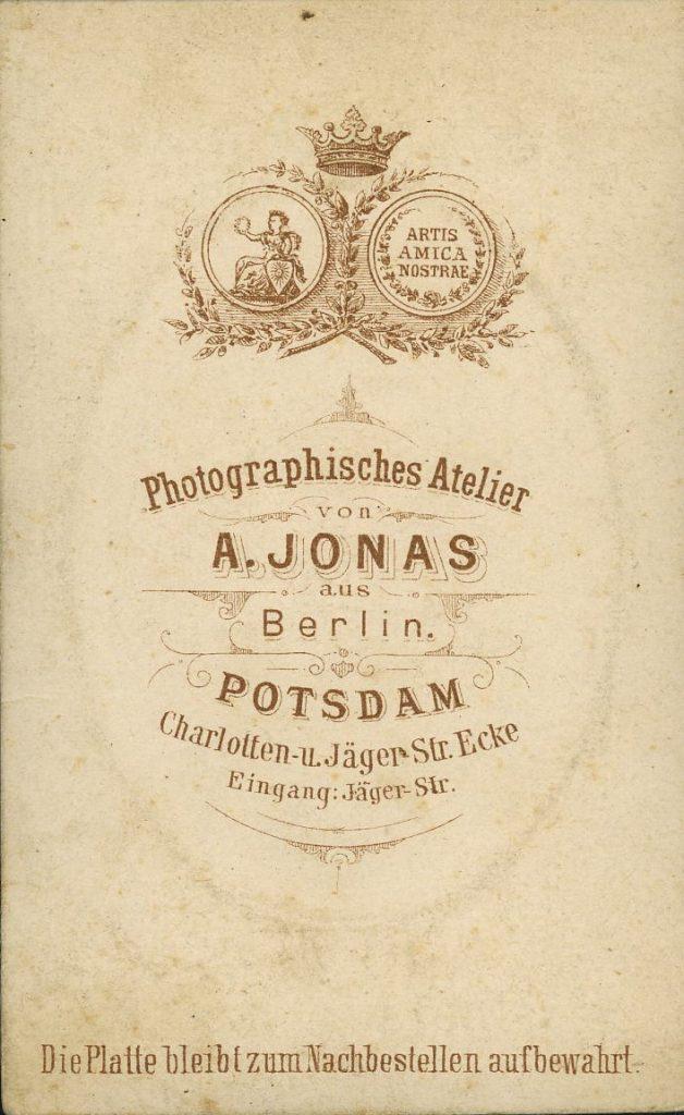 A. Jonas - Berlin - Potsdam