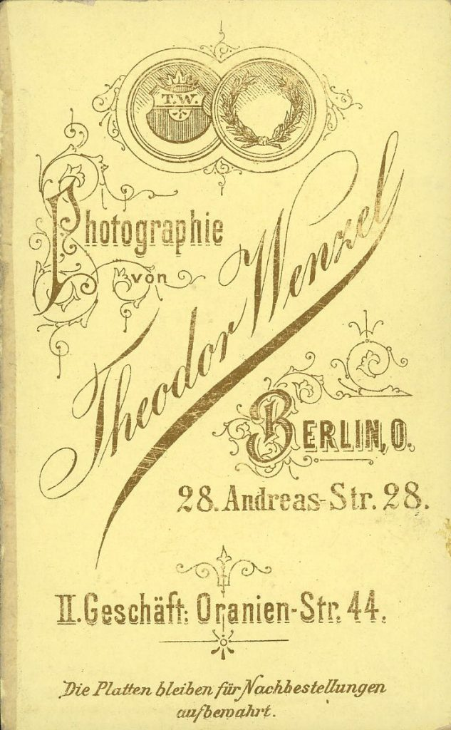 Theodor Wenzel - Berlin
