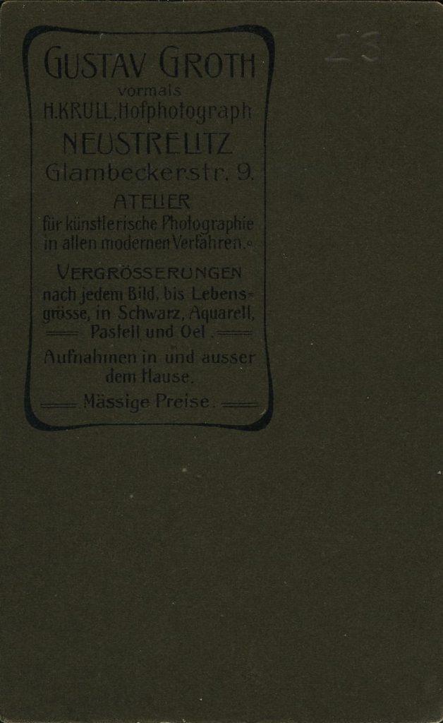 Gustav Groth - Neustrelitz