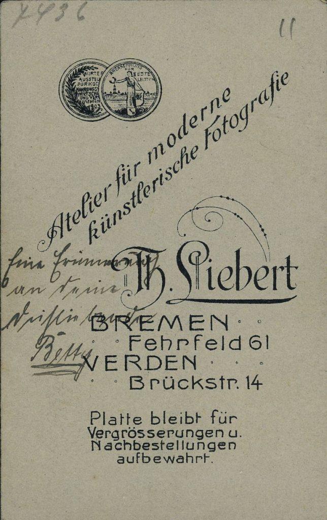 Th. Liebert - Bremen - Verden