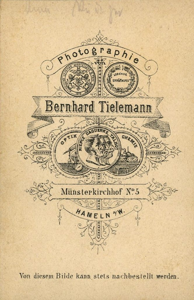 Bernhard Tielemann - Hameln a.W.