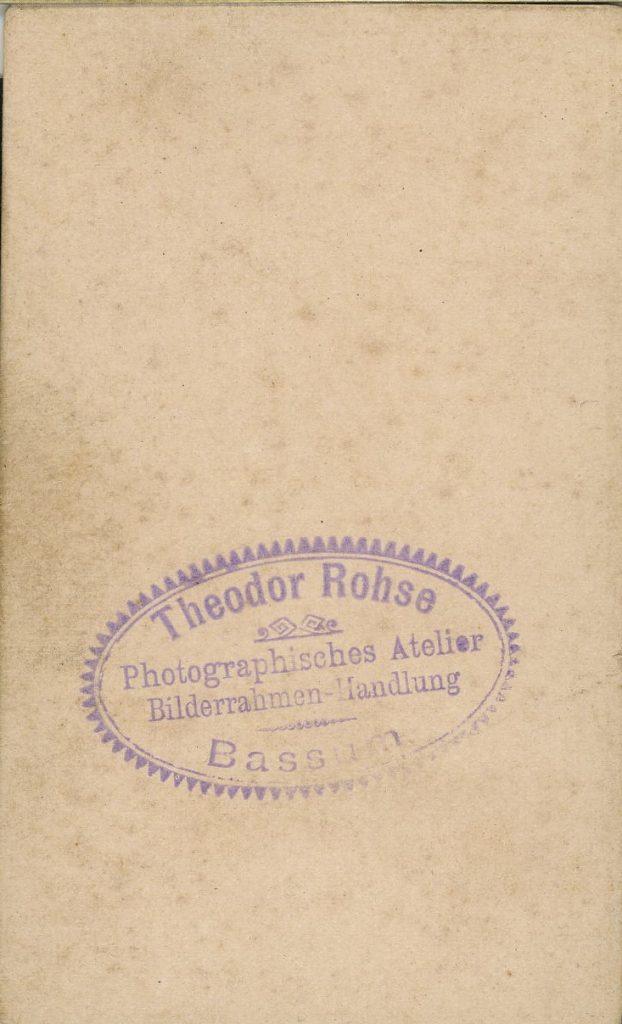 Theodor Rohse - Bassum