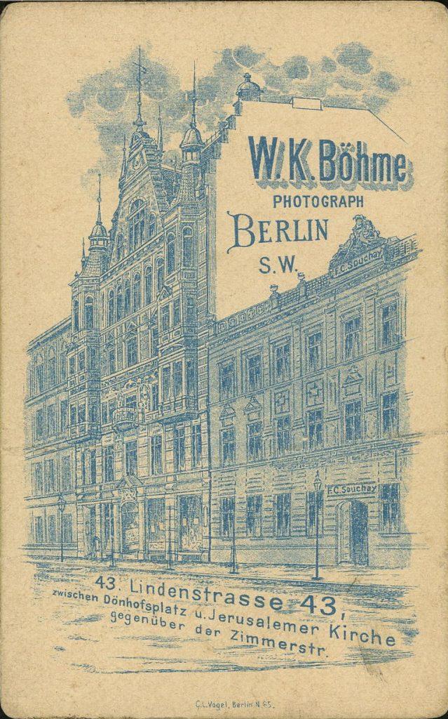 W. K. Böhme - Berlin