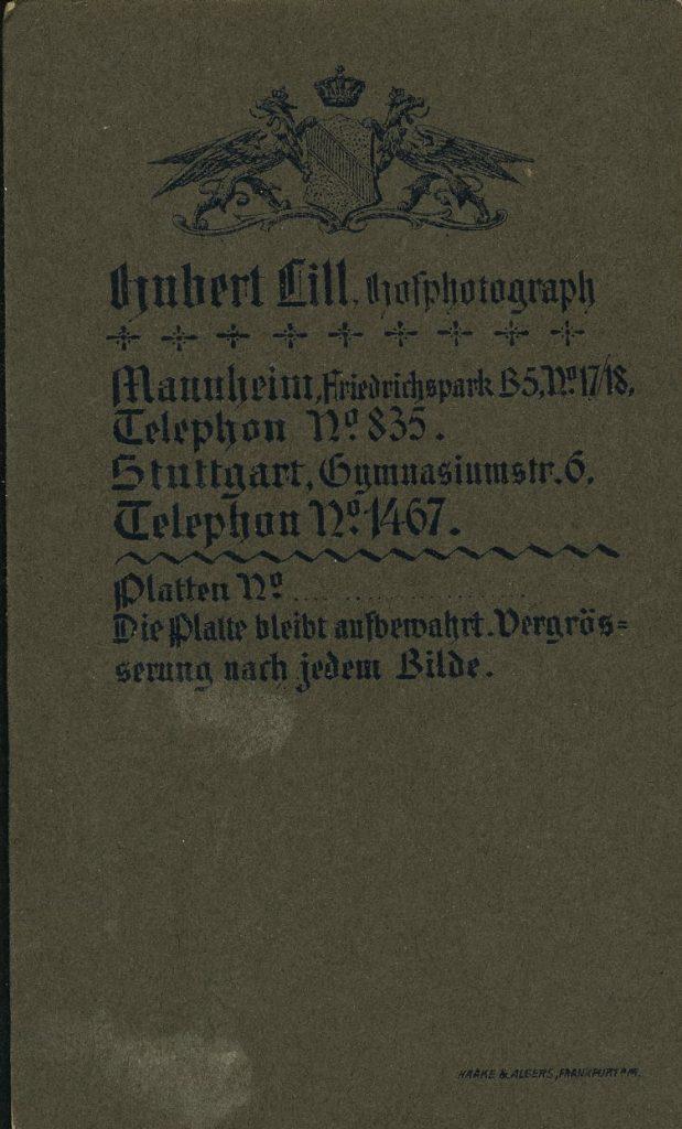 Hubert Lill - Mannheim - Stuttgart