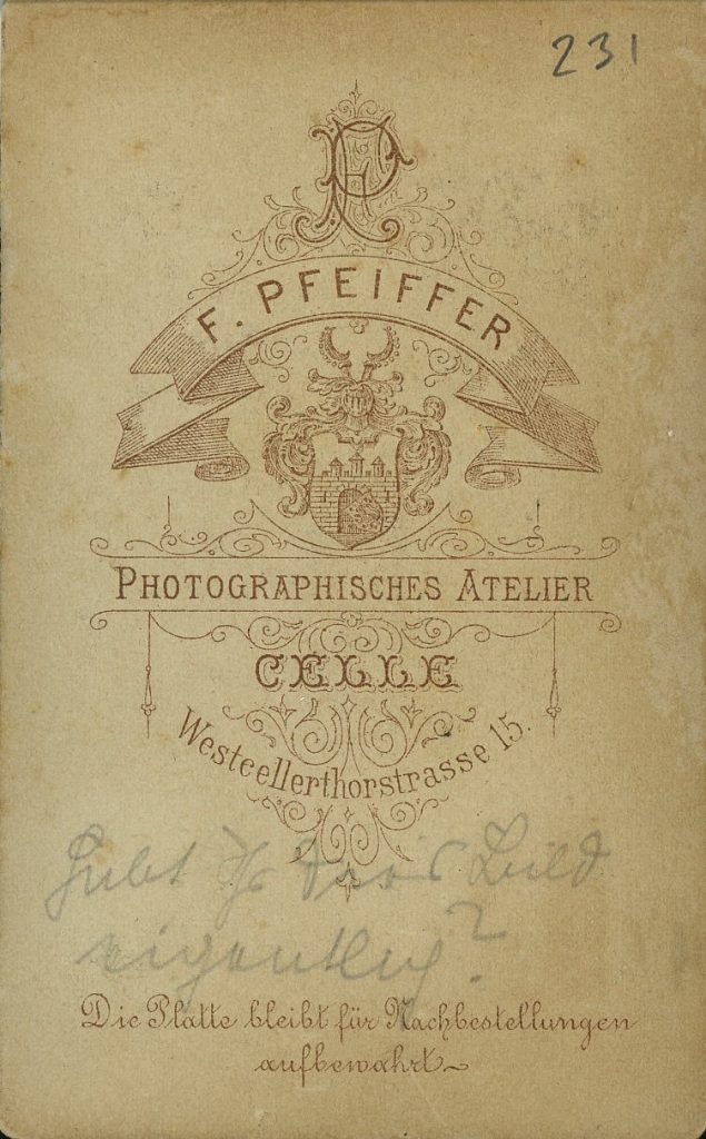 F. Pfeiffer - Celle