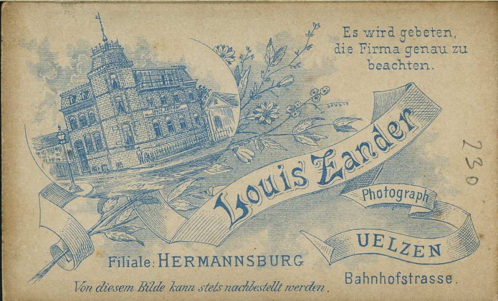 Louis Zander - Uelzen - Hermannsburg