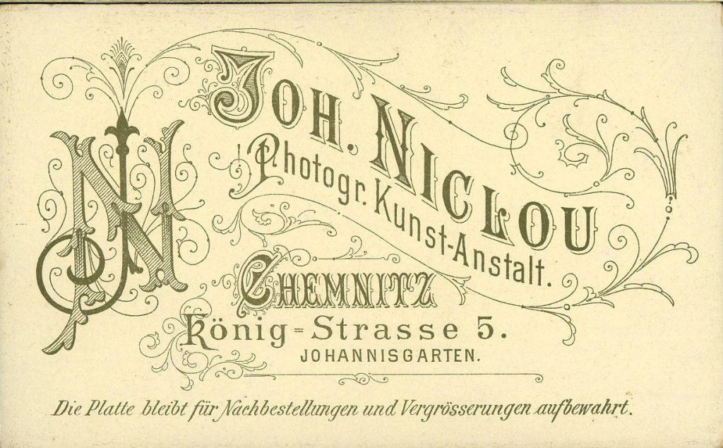 Joh. Niclou - Chemnitz