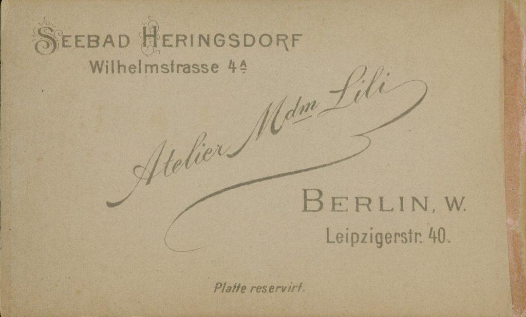 Atelier Mdm. Lili - Seebad Heringsdorf - Berlin