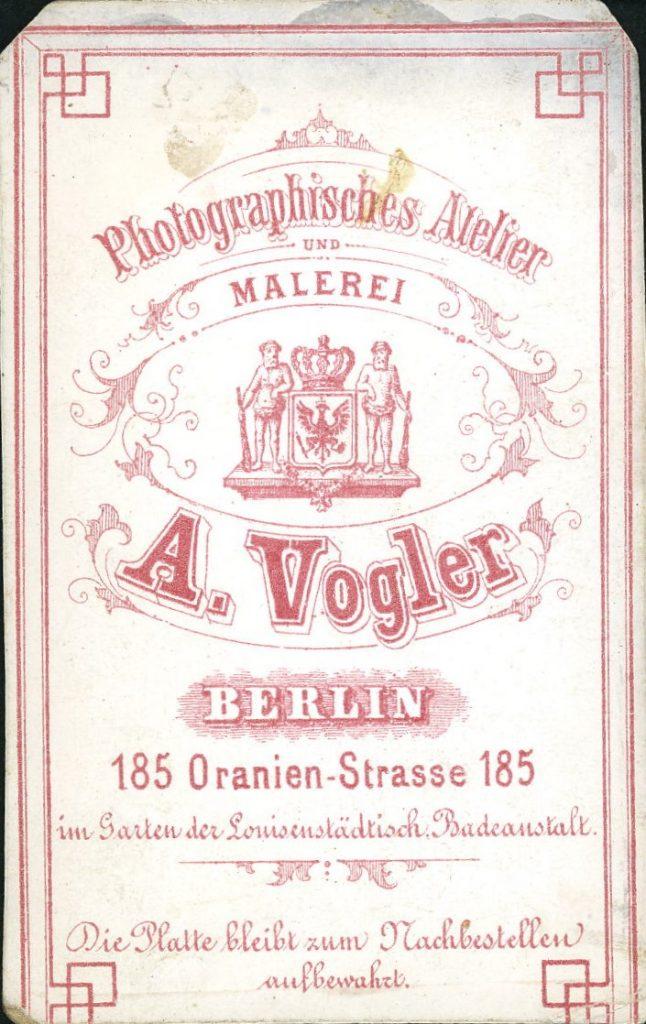 A. Vogler - Berlin