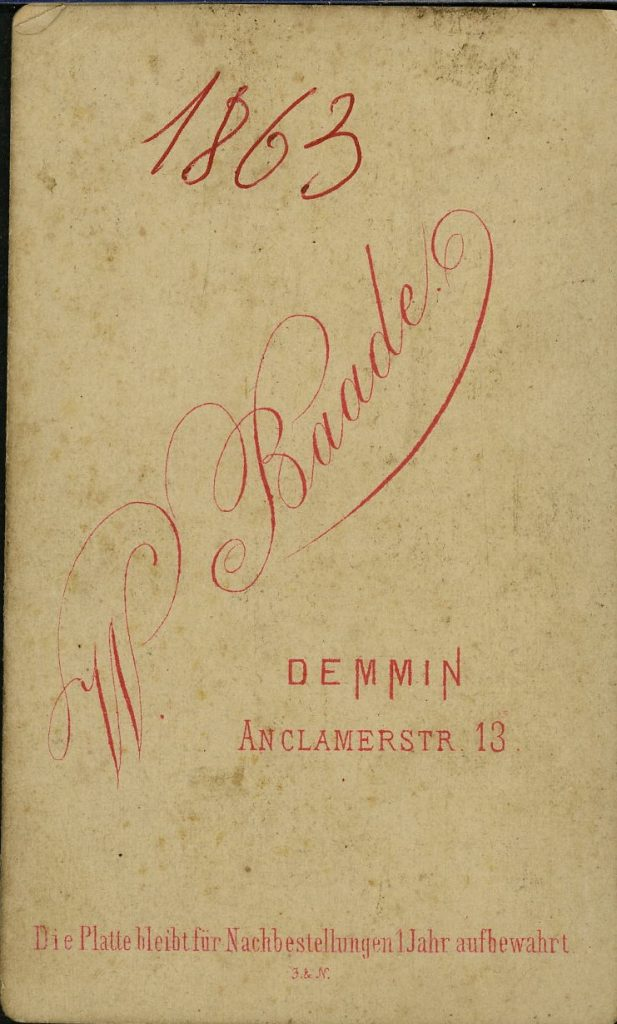 W. Baade - Demmin