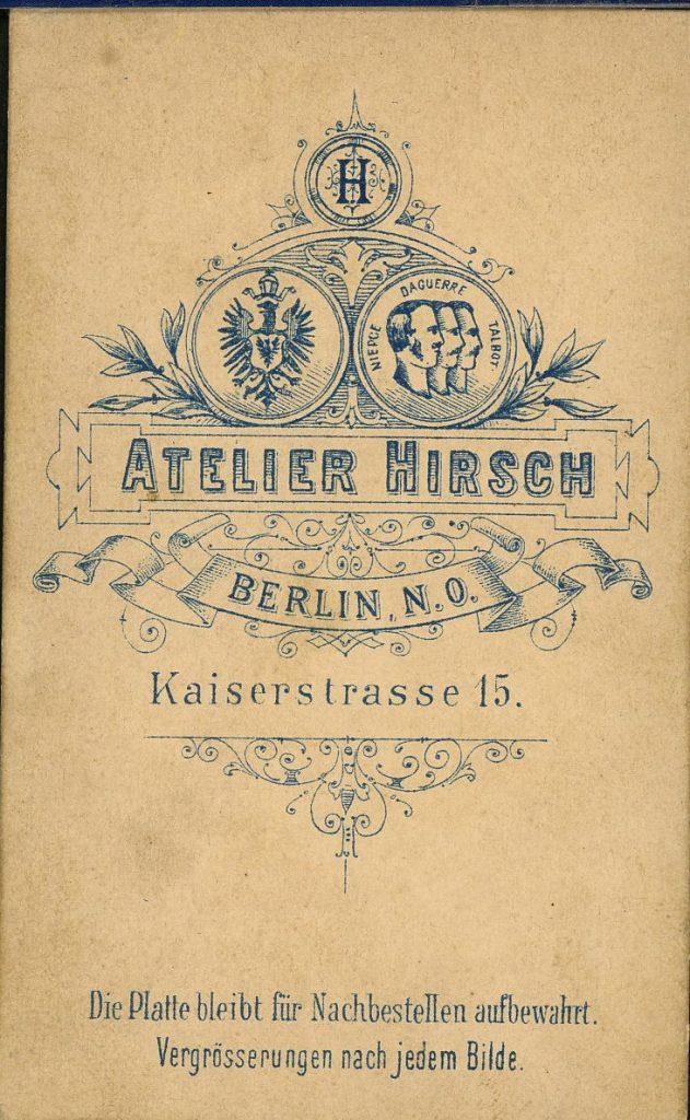 Atelier Hirsch - Berlin