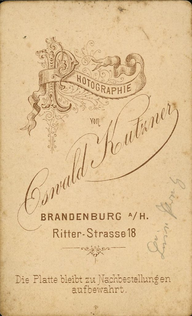 Oswald Kutzner - Brandenburg a.H.