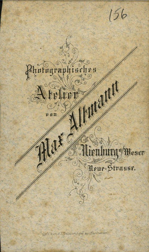 Max Altmann - Nienburg a.W.