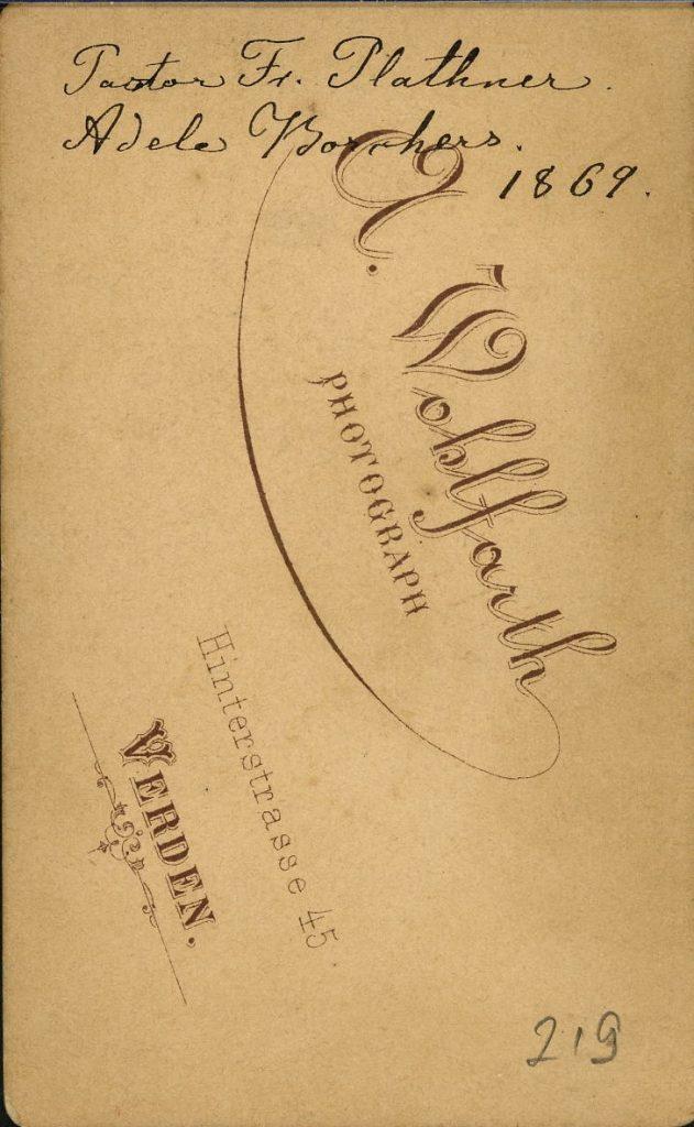 A. Wohlfarth - Verden