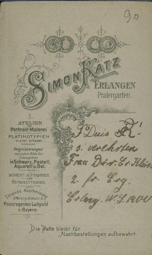 Simon Katz - Erlangen