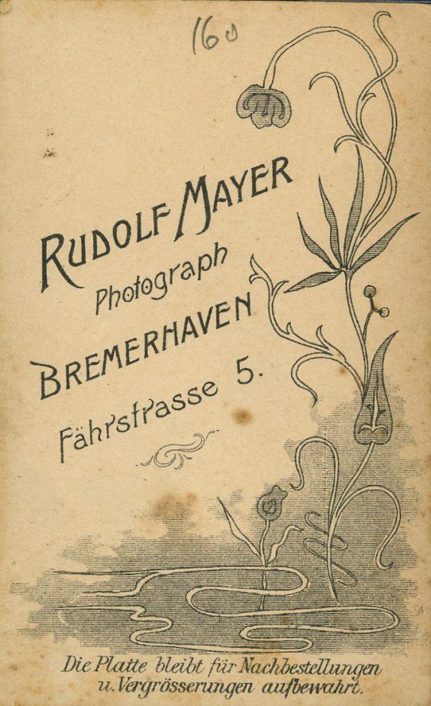 Rudolf Mayer - Bremerhaven