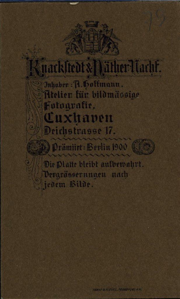 Knackstedt & Näther Nachf. - R. Hoffmann - Cuxhaven