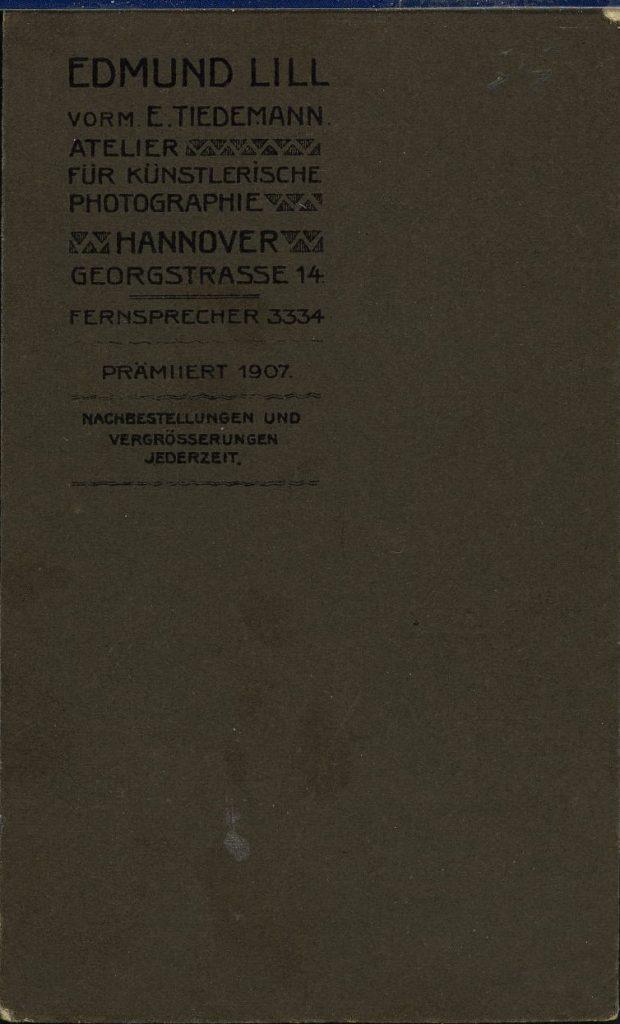 Edmund Lill - Hannover