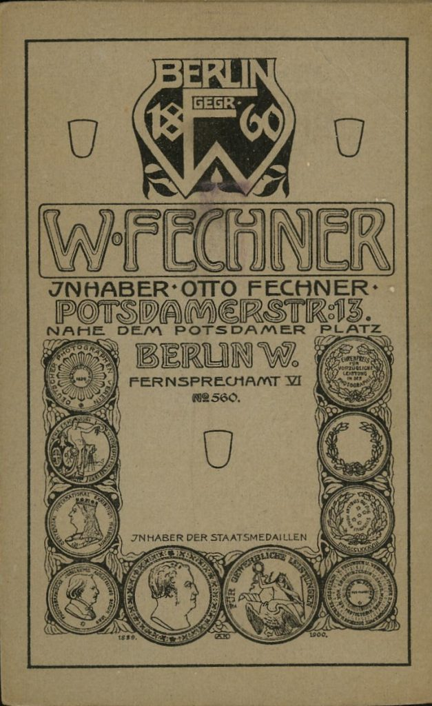 W. Fechner - Otto Fechner - Berlin