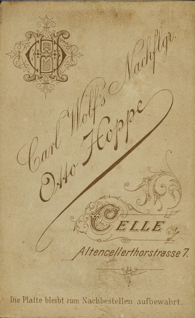 Carl Wolf - Otto Hoppe - Celle