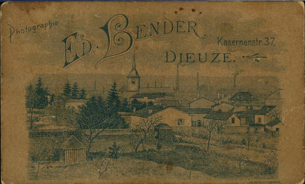 Ed. Bender - Dieuze