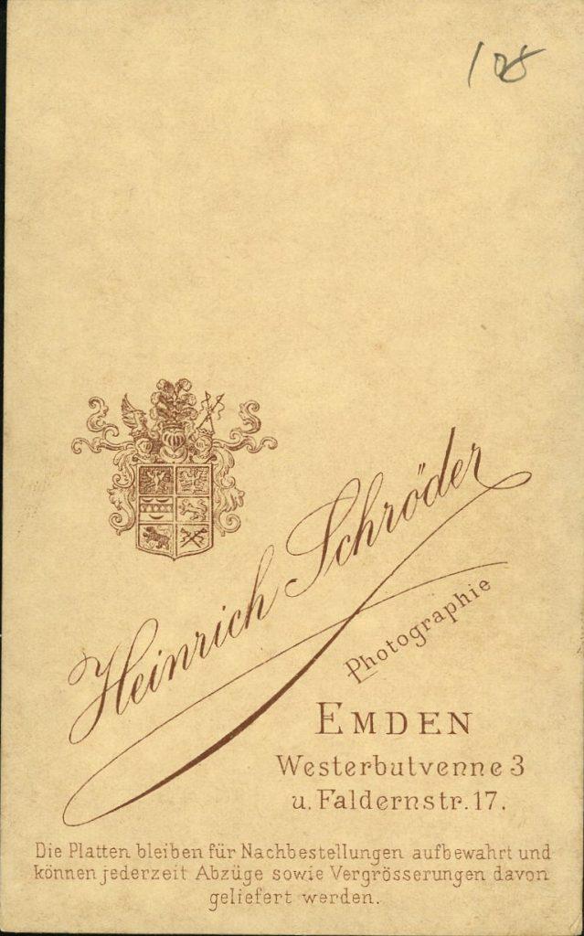 Heinrich Schröder - Emden