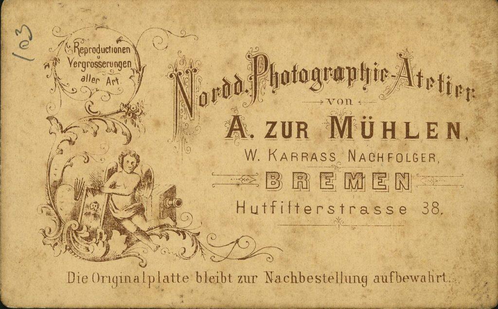 A. zur Mühlen - W. Karrass - Bremen
