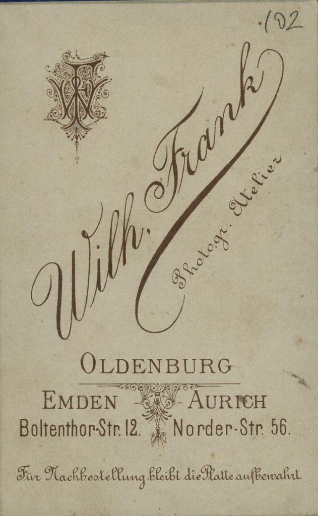 Wilh. Frank - Oldenburg - Emden - Aurich