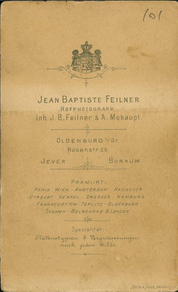 Jean Baptiste Feilner - A Mohaupt - Oldenburg - Jever - Borkum