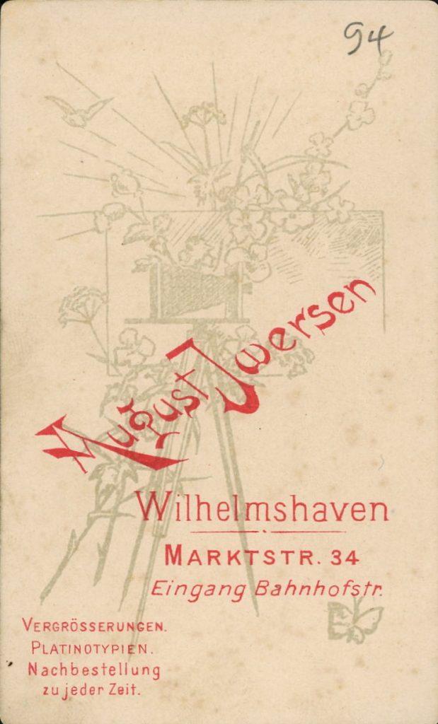 August Iwersen - Wilhelmshaven