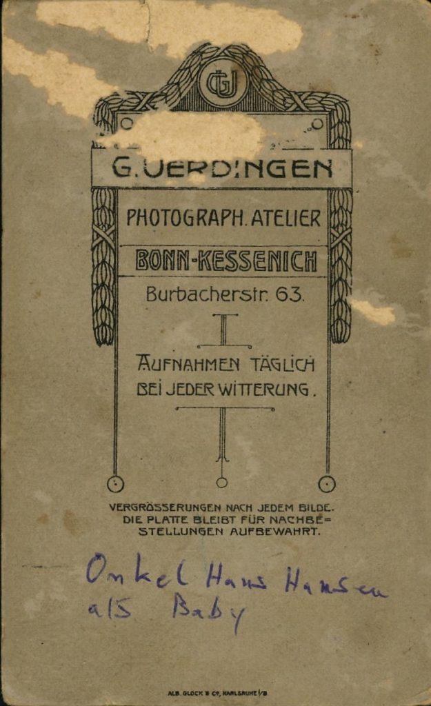 G. Uerdingen - Bonn-Kessenich