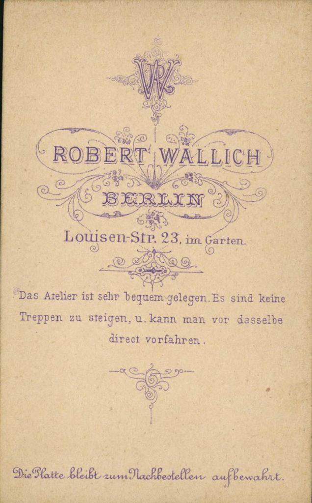 Robert Wallich - Berlin