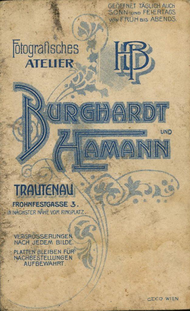 Burghardt & Hamann - Trautenau