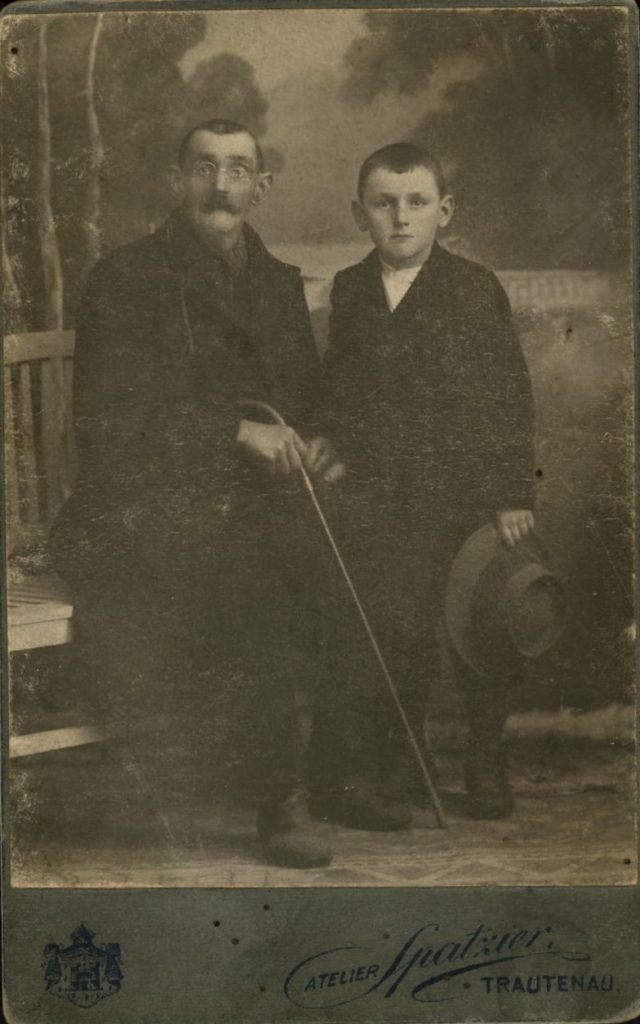 Franz Spatzier - Robert Spatzier - Trautenau