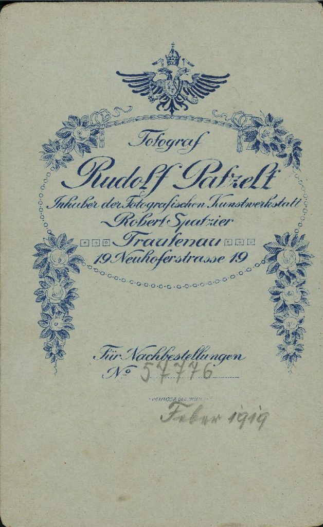 Rudolf Patzelt - Robert Spatzier - Trautenau