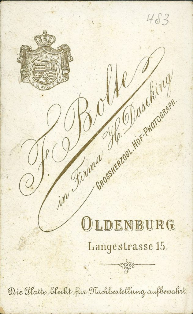 F. Bolte - F. Daseking - Oldenburg