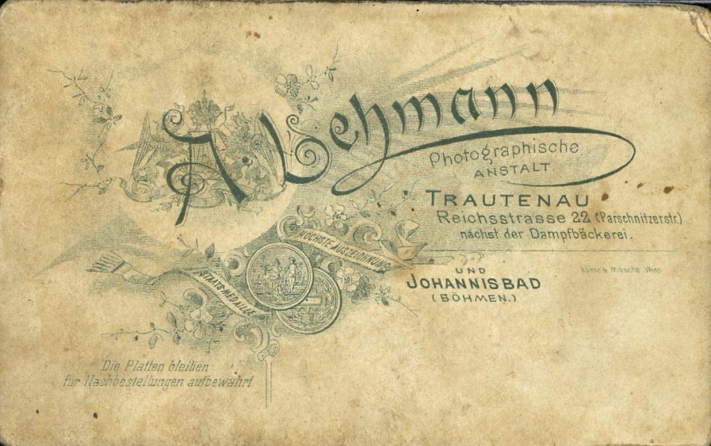 A. Lehmann - Trautenau - Johannisbad i.B.