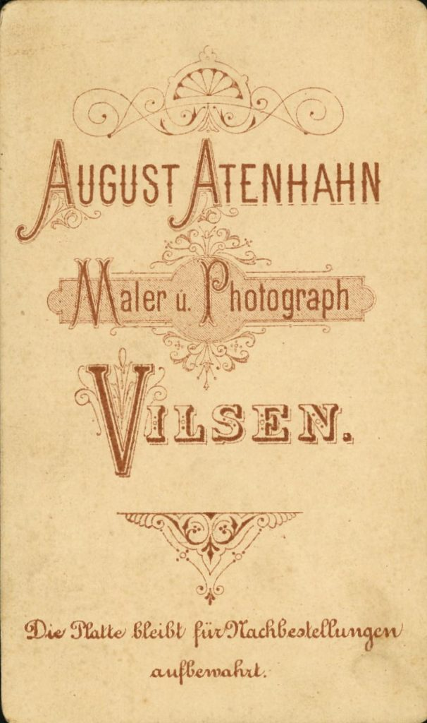 August Atenhahn - Vilsen