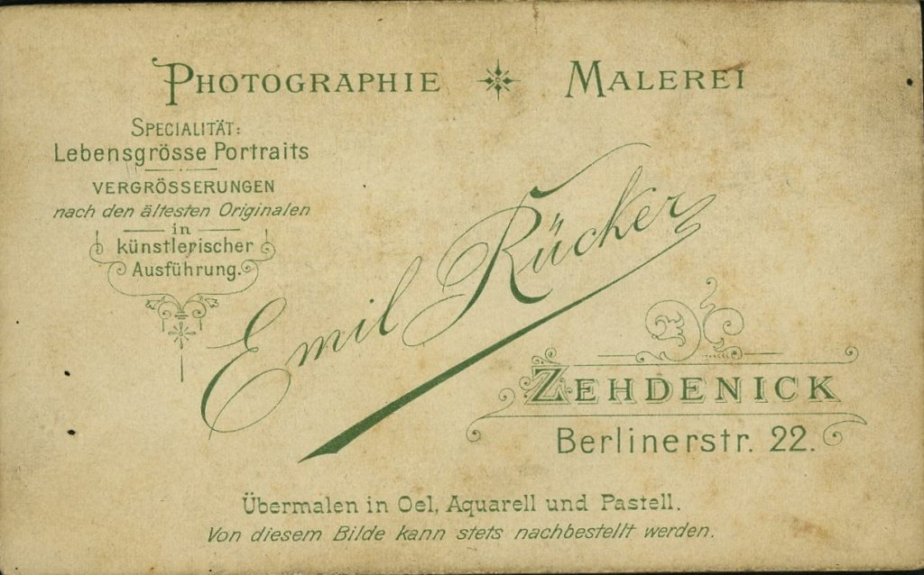 Emil Rücker - Zehdenick