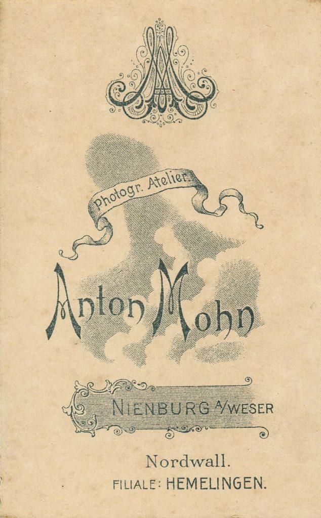 Anton Mohn - Nienburg a.W - Hemelingen