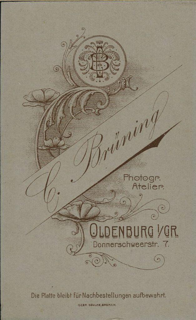 C. Brüning - Oldenburg i.Gr