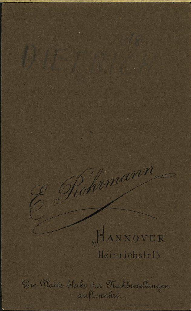 E. Rohrmann - Hannover