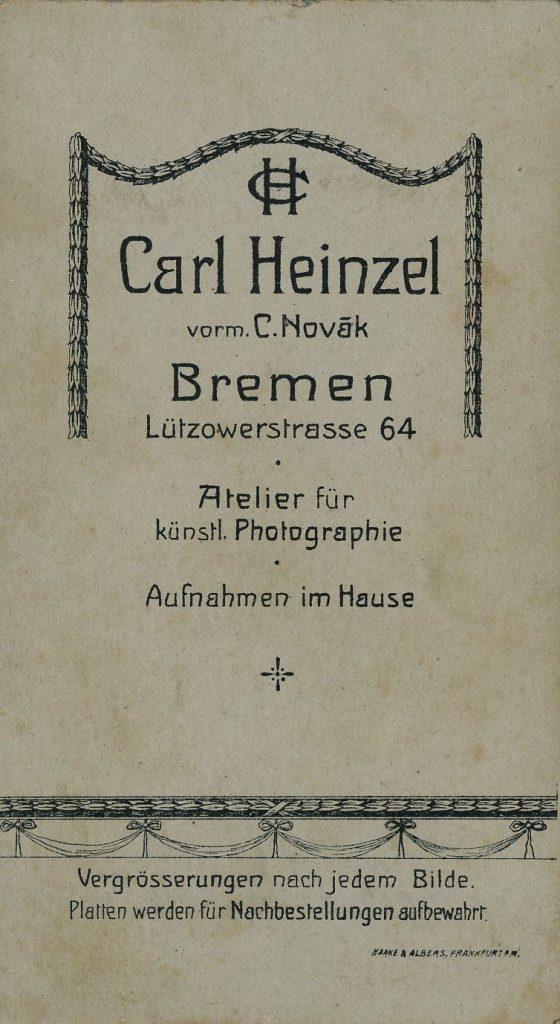 Carl Heinzel - C. Novak - Bremen