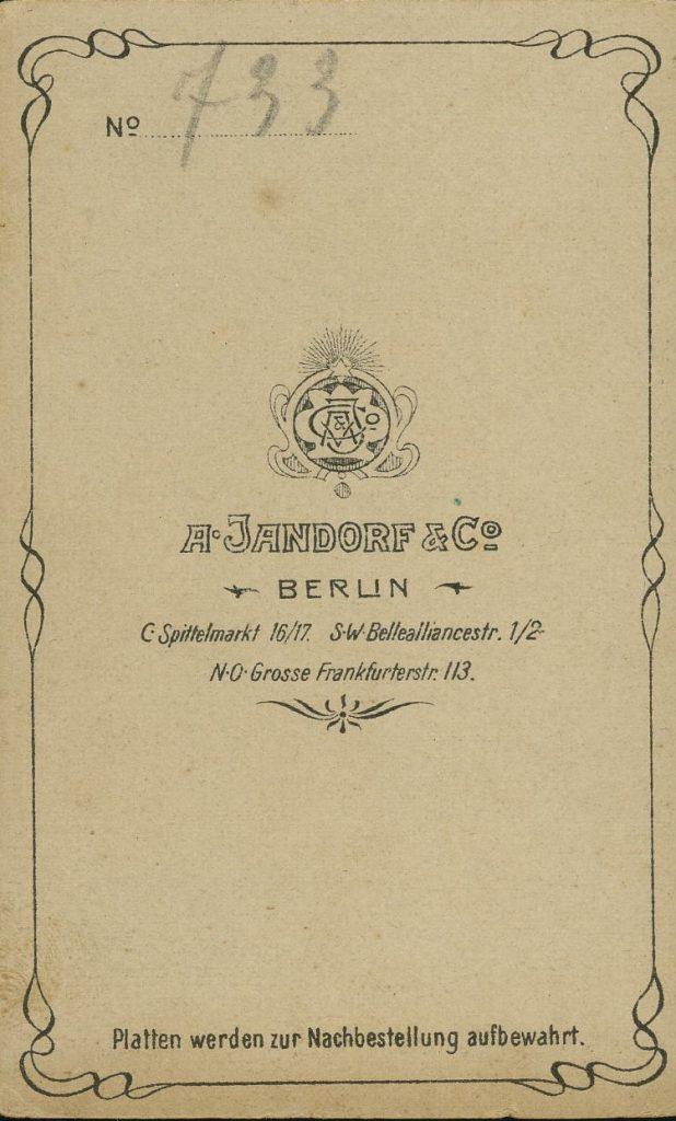 A. Jandorf & Co. - Berlin
